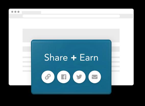 Share + Earn