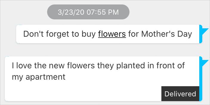 Messaging Contexual Shortcuts